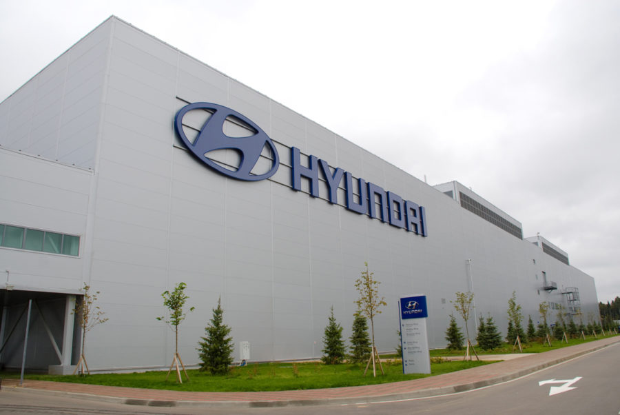 Завод Hyundai, Санкт-Петербург